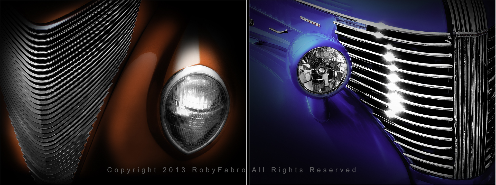 Front Details of Vintage Cars. Boston automotive photographers | RobyFabro