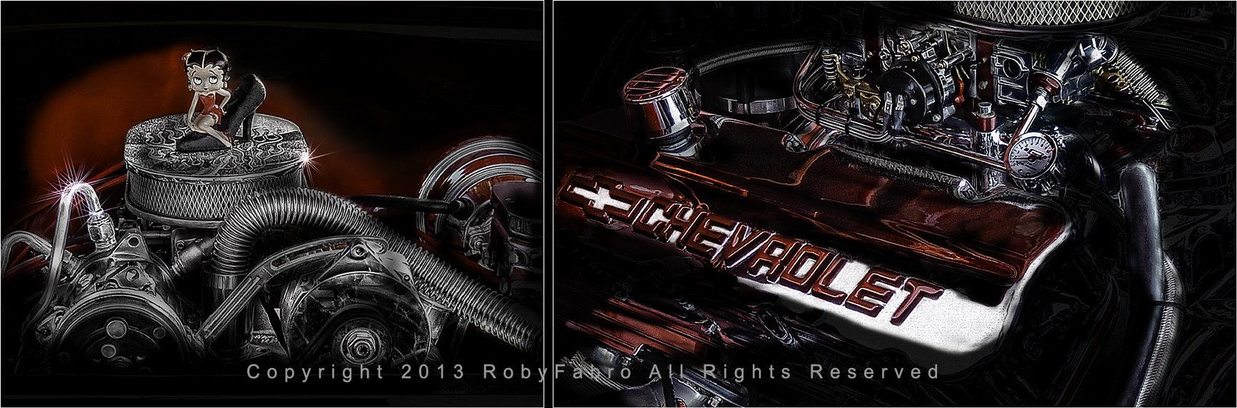 Chevrolet Engine. Boston automotive photographers | RobyFabro