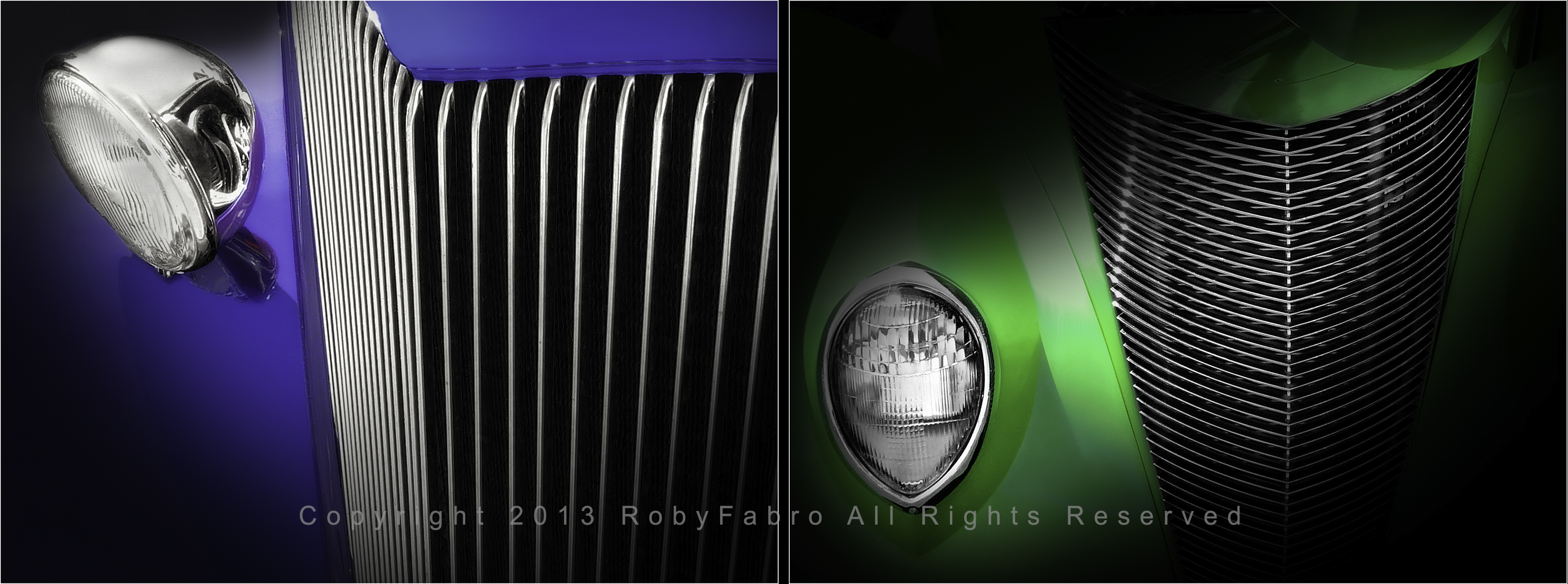 Front Details of  American vintage cars. Boston automotive photographers | RobyFabro