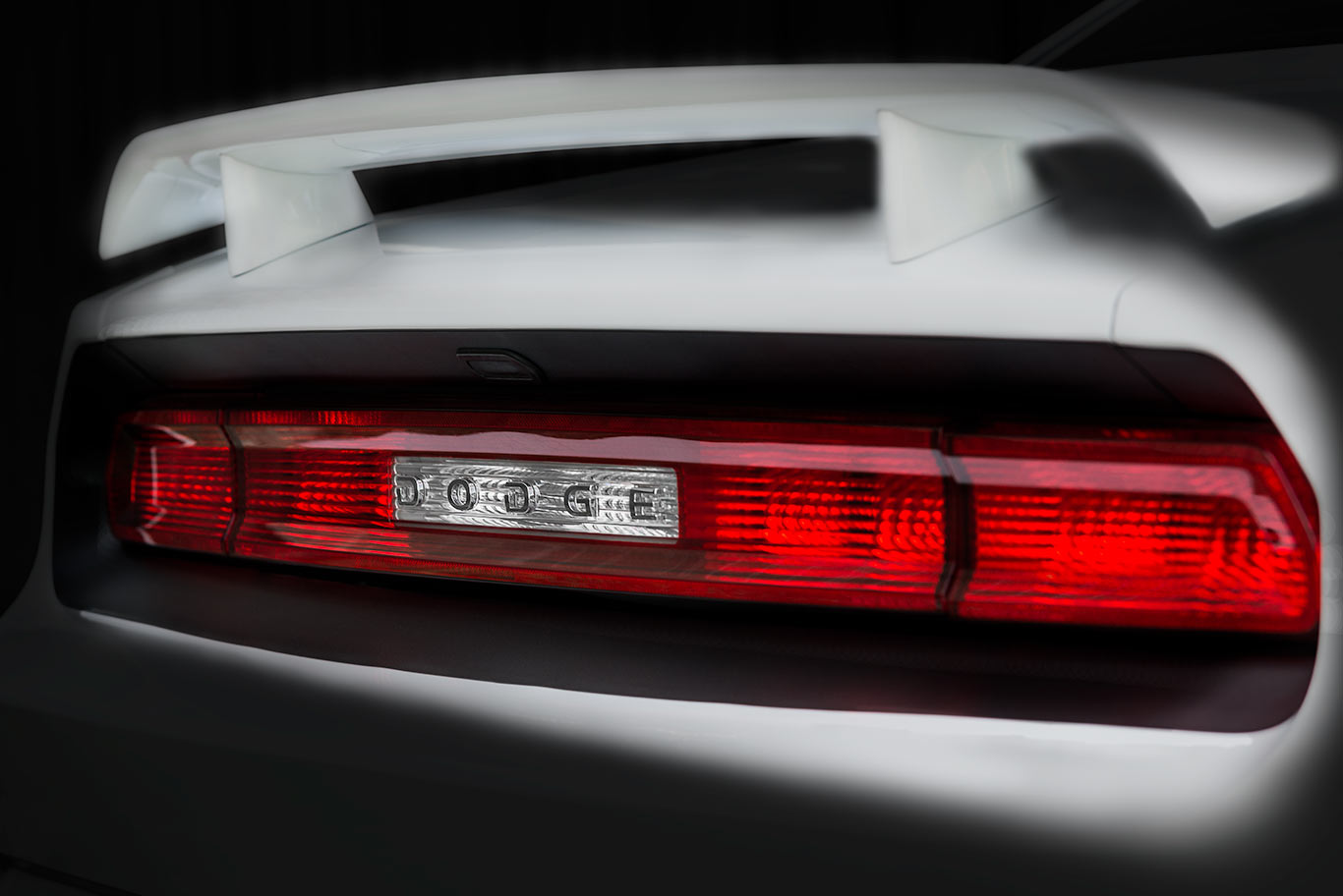 Dodge-Challenger-R-T--rear-lights. Best Boston automotive photographers | RobyFabro