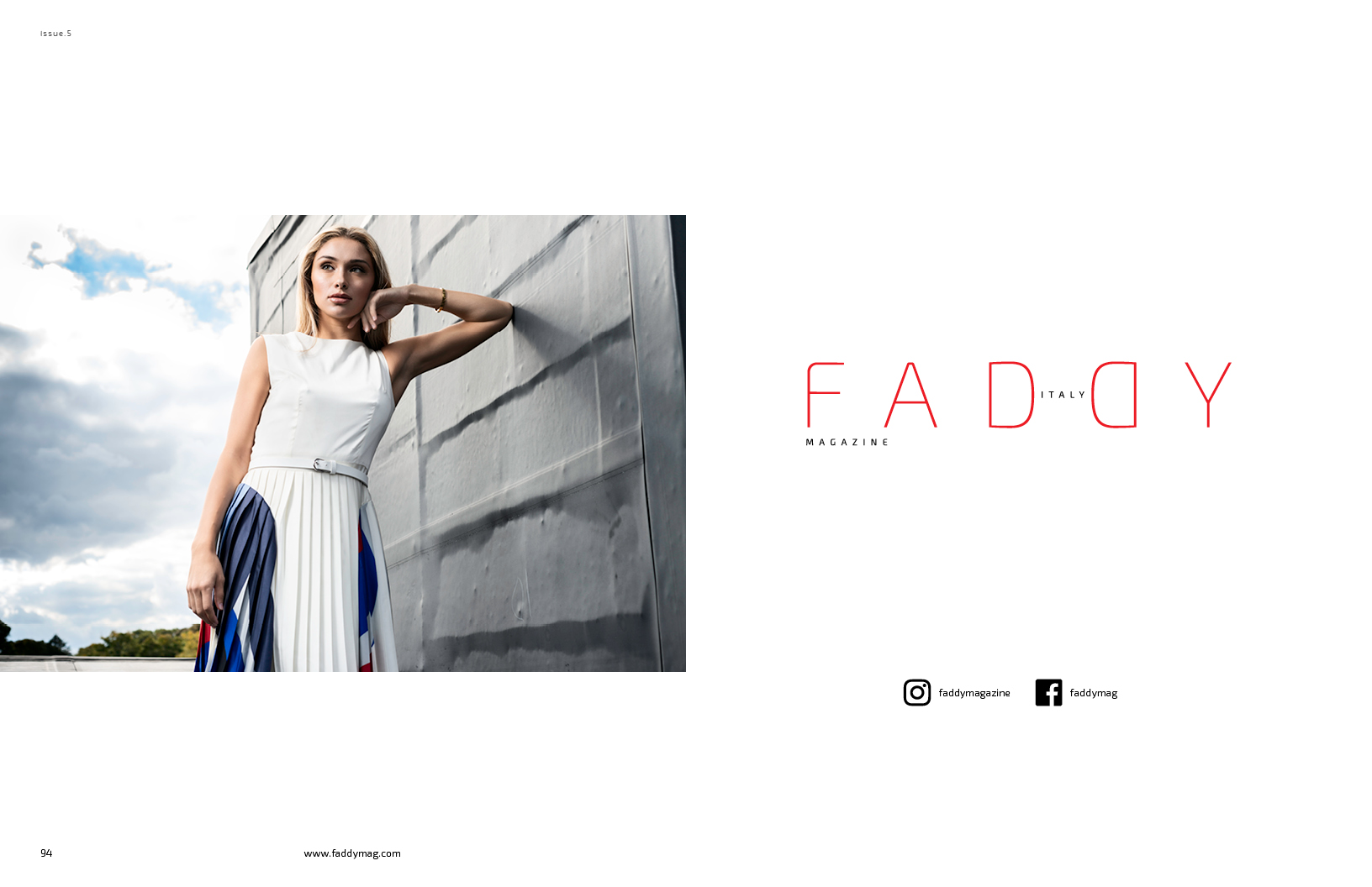 Fashion Editorial for Faddy Magazine | RobyFabro Photography