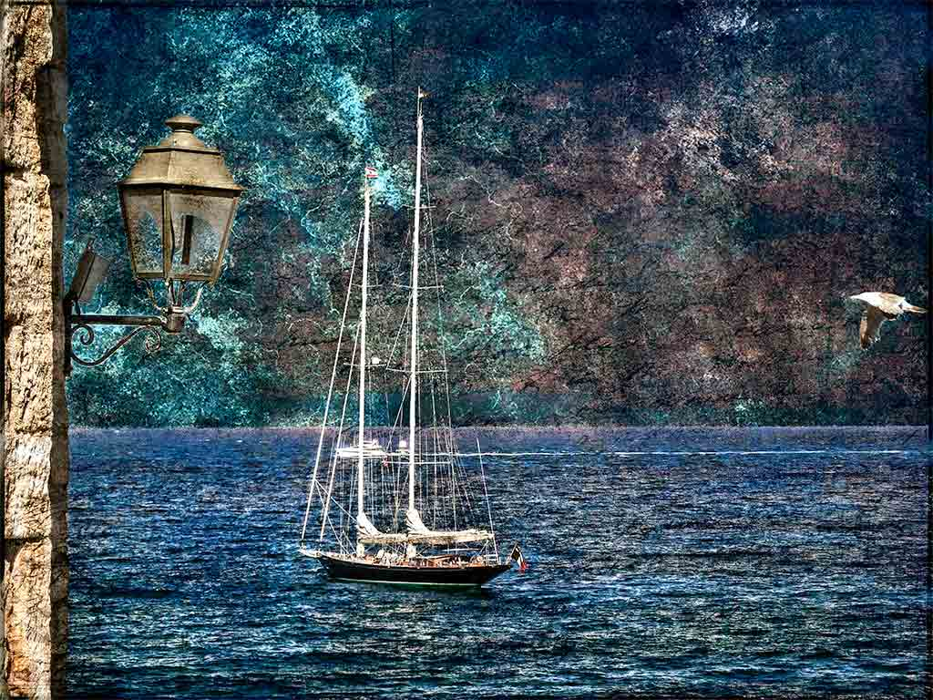 France,-Antibes,-Sailboat