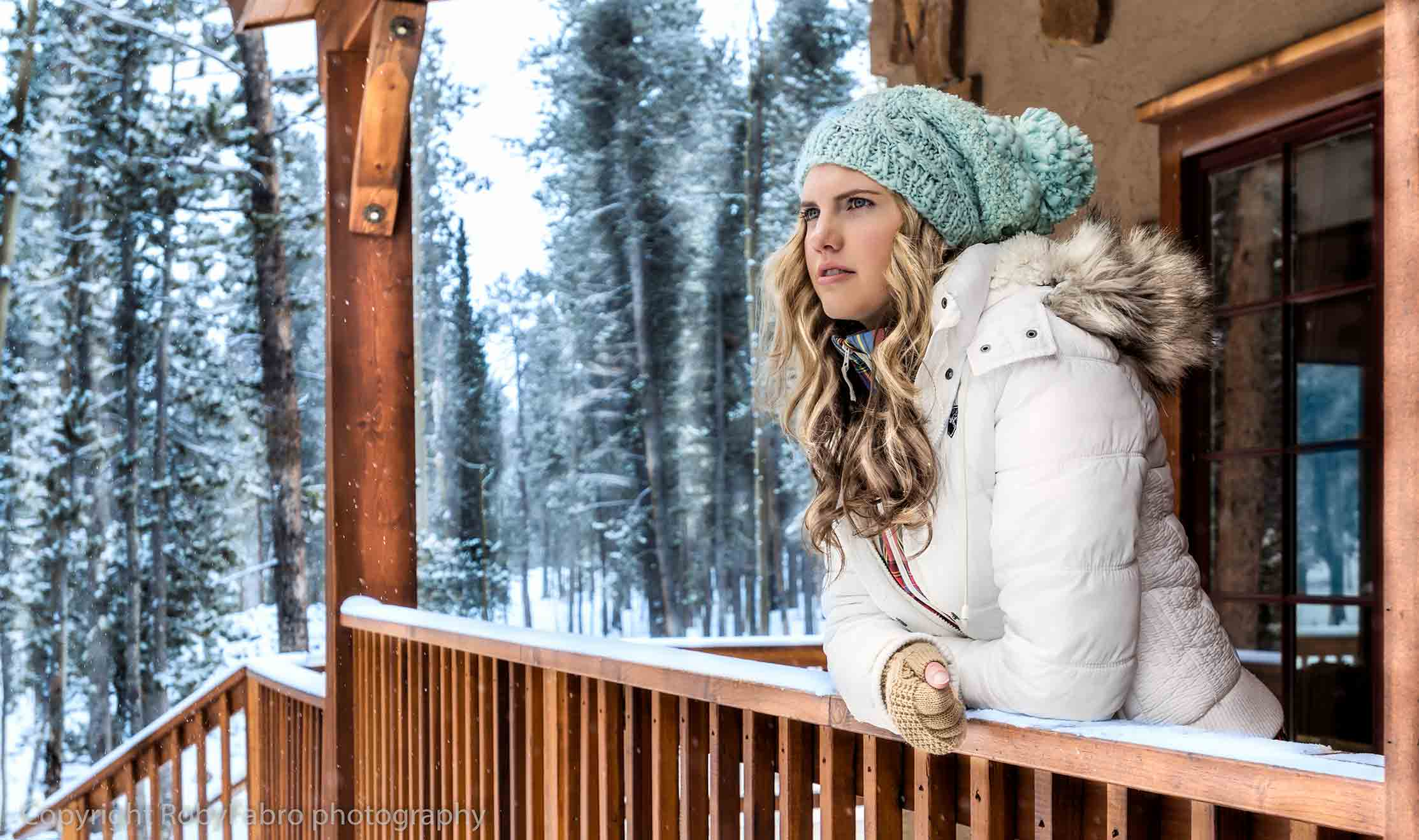 Fashion lifestyle photography, Breckenridge, Colorado