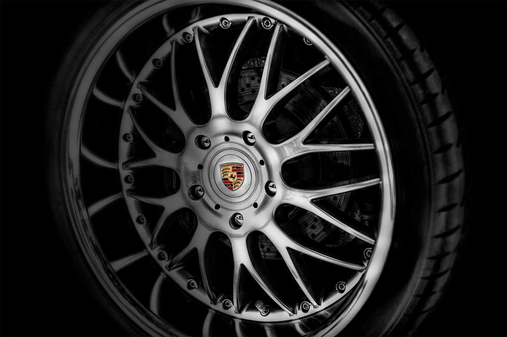 Porsche Spokes. Best Boston automotive photographer | RobyFabro
