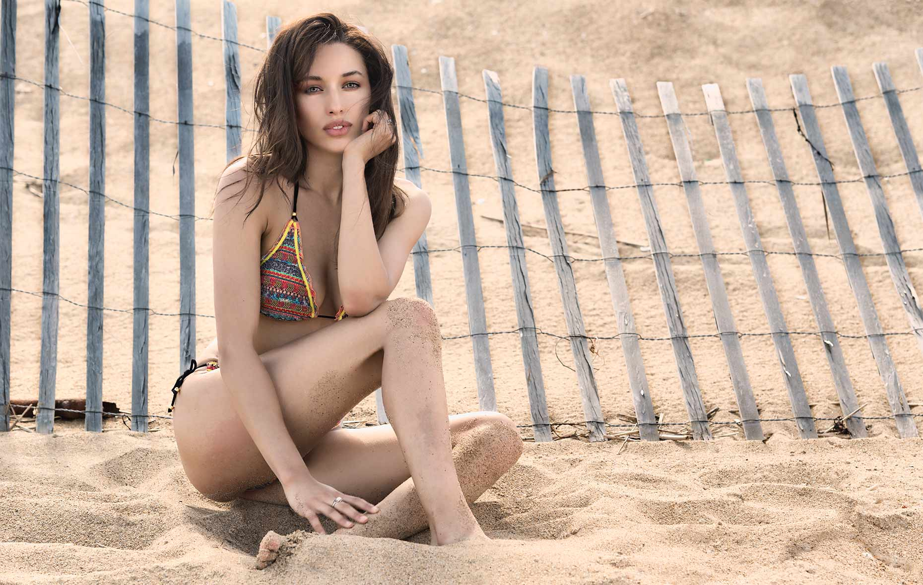 Model in Swimwear_Plum-island, MA 3