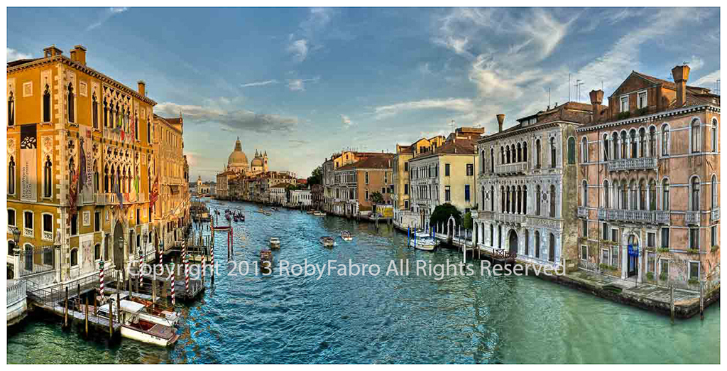 Venice view of the Grand Canal
